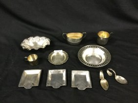 Sterling Silver dishes