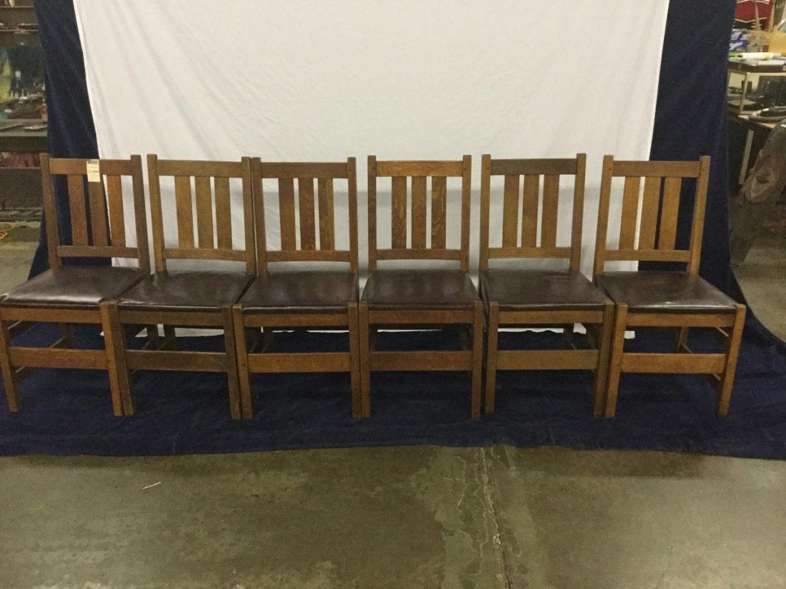 6 Stickley Chairs