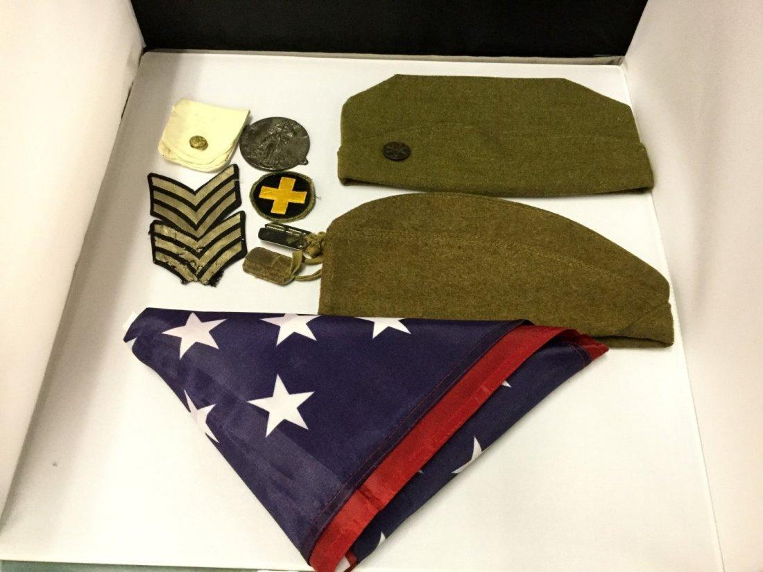 WWII memorabilia a silver star, purple heart, conduct - 4