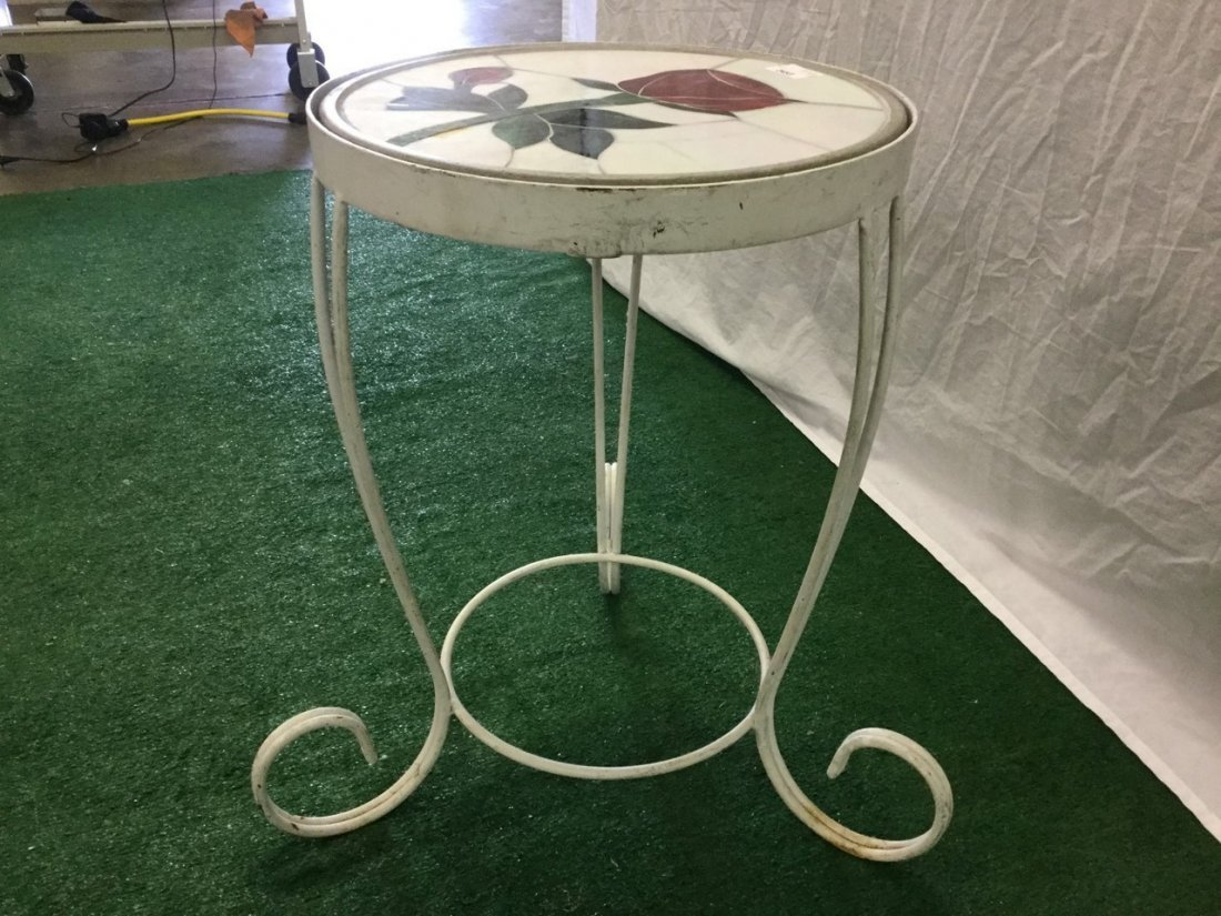 Tile top Side table - 2