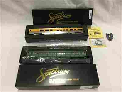 """Two Spectrum """"HO"""" Trains. Observation and Coach"""