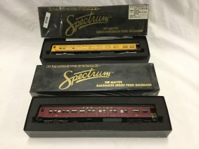 Spectrum observation and Coach Trains
