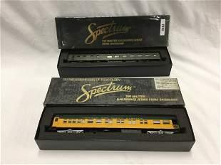Spectrum Observation and Diner Trains.