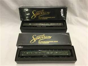 Two Spectrum Pullman Trains