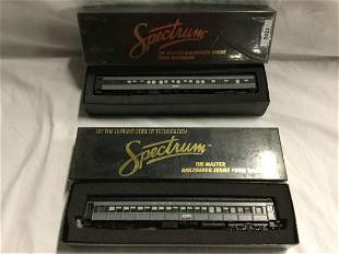 Two HO Spectrum Trains.