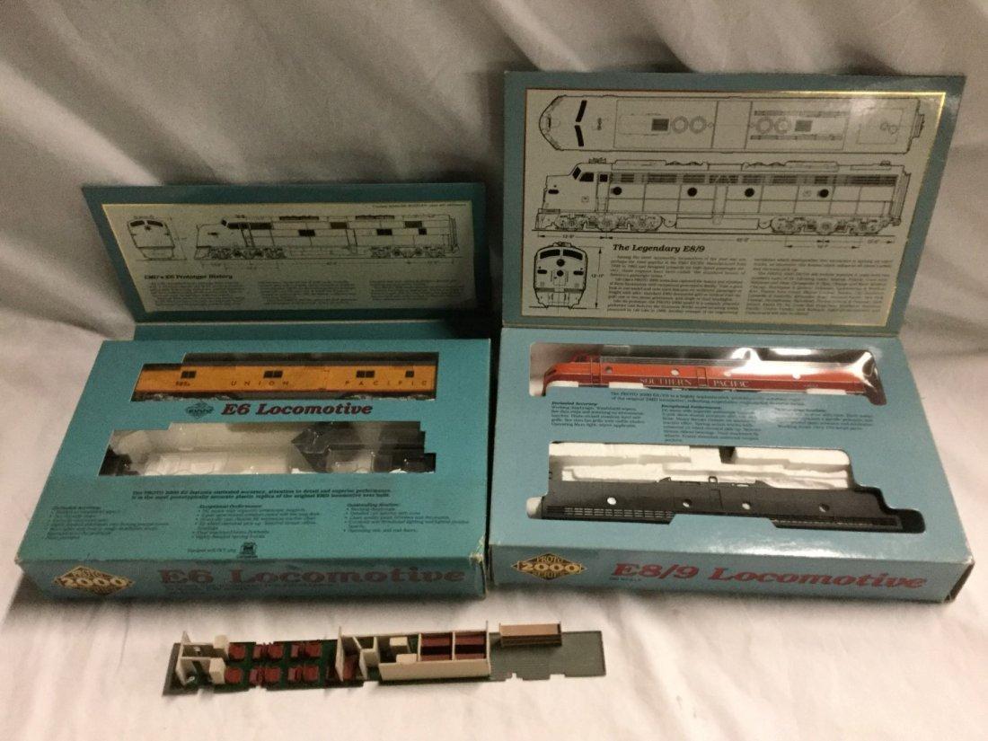 Proto 2000 series Model Trains