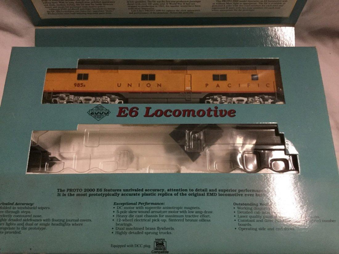 Proto 2000 series Model Trains - 3