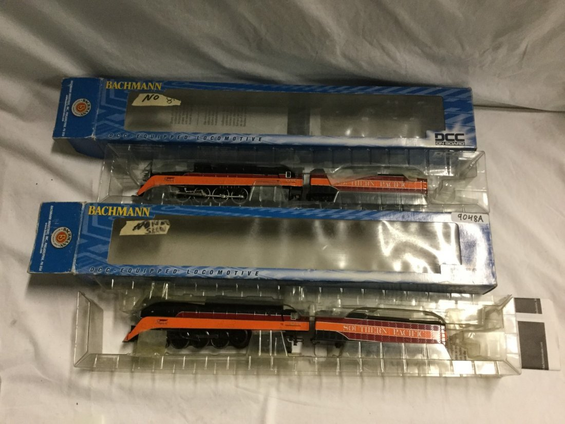 2 Bachman DCC equipped locomotives