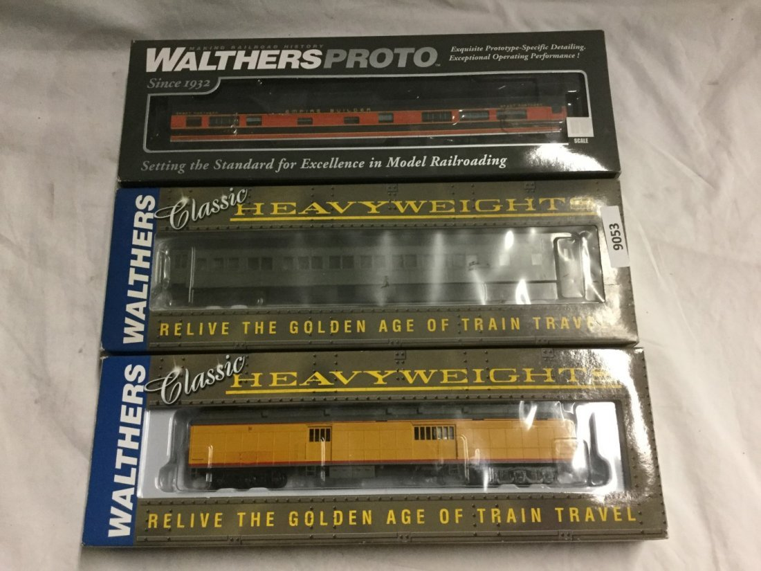 3 Walters Ready to Run Trains