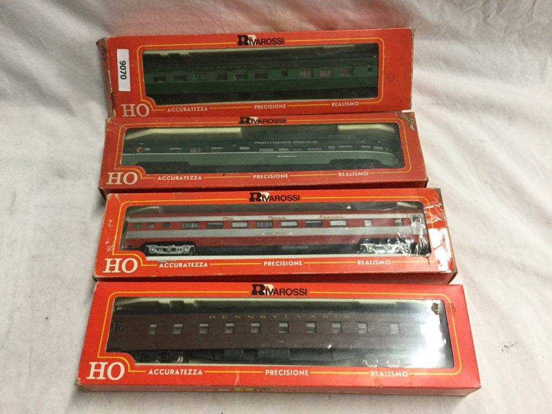 4 Rivarrossi Model trains
