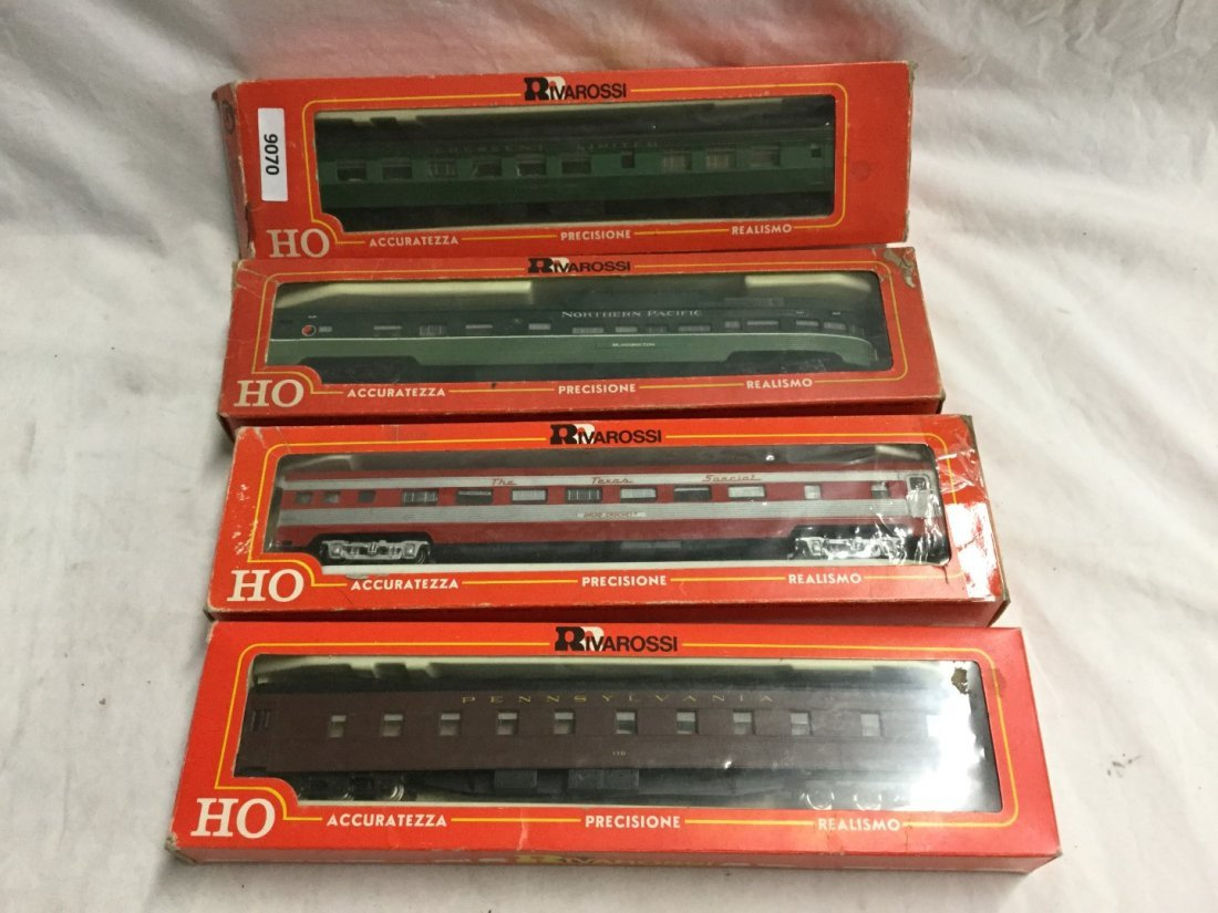 4 Rivarrossi Model trains