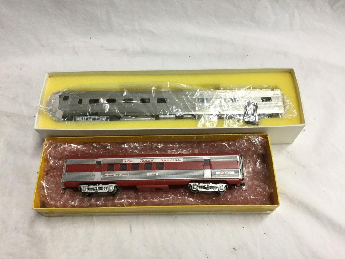 Oriental Limited train ad Baggage car