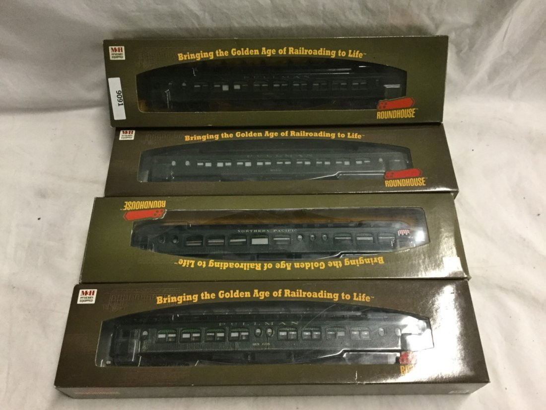 4 Roundhouse Trains