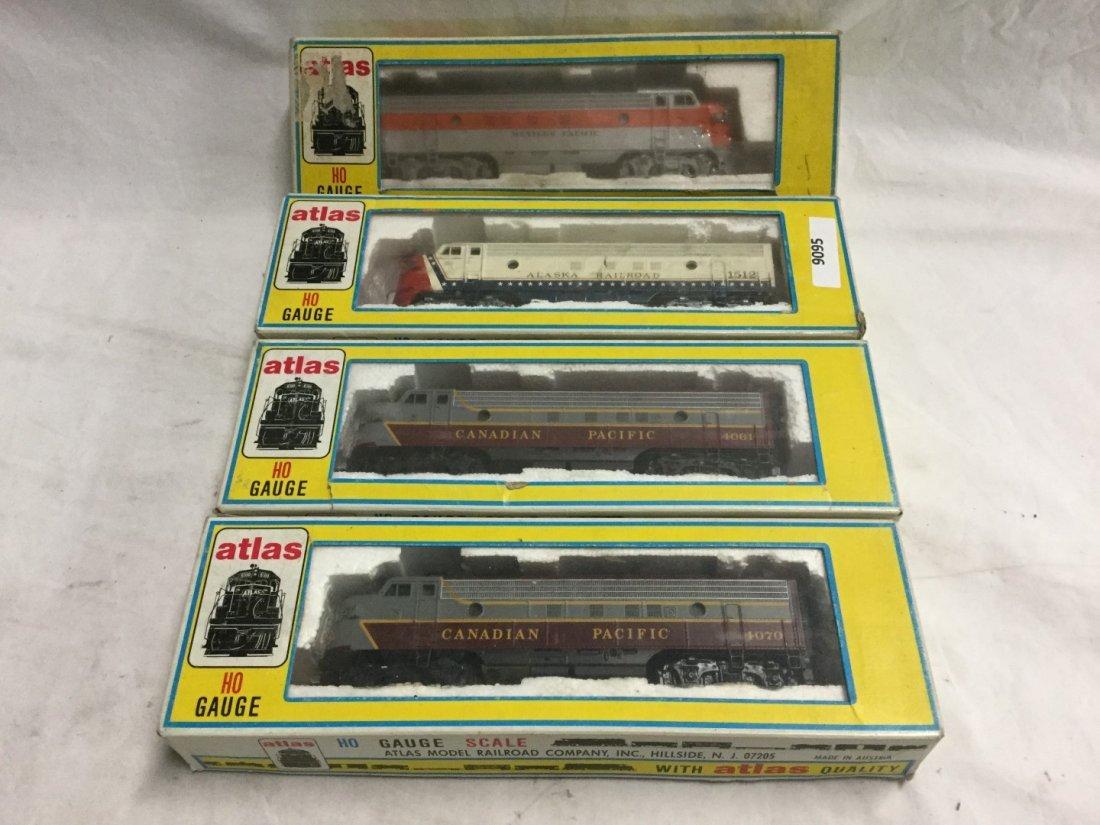 4 Atlas Ho Guage Model Trains