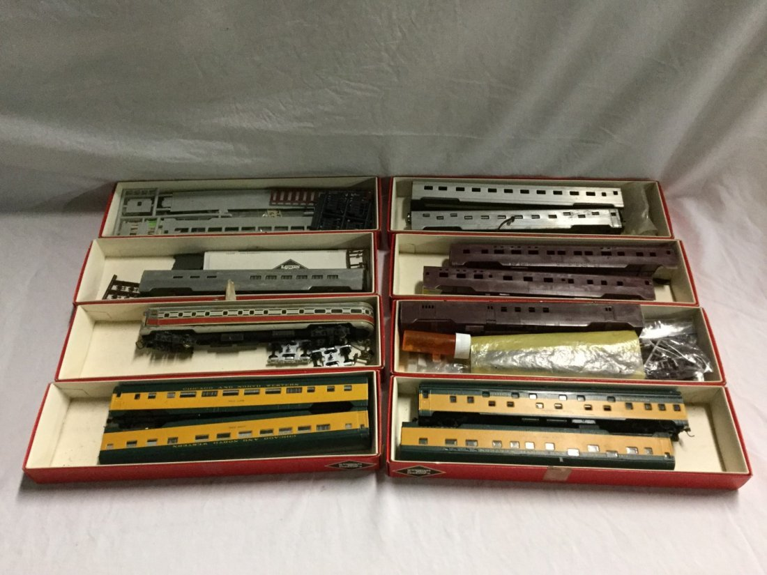 Large lot of Eastern car Works misc. Trains