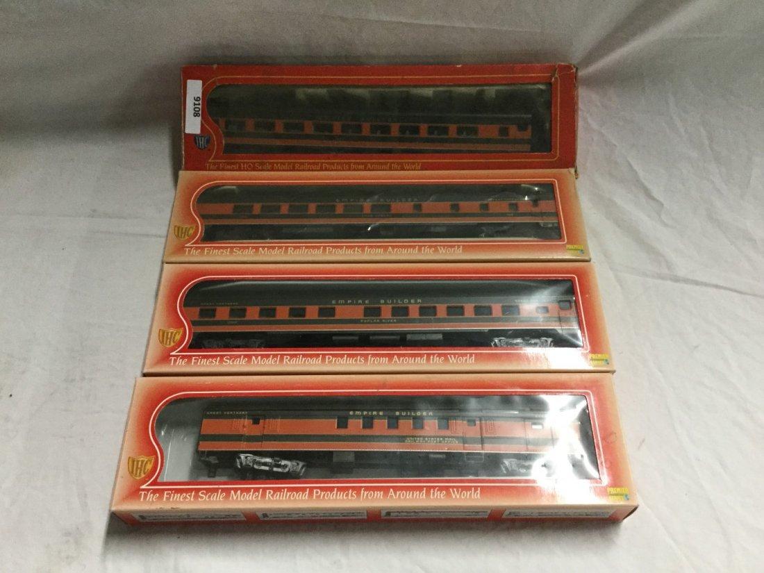 4 IHC model trains
