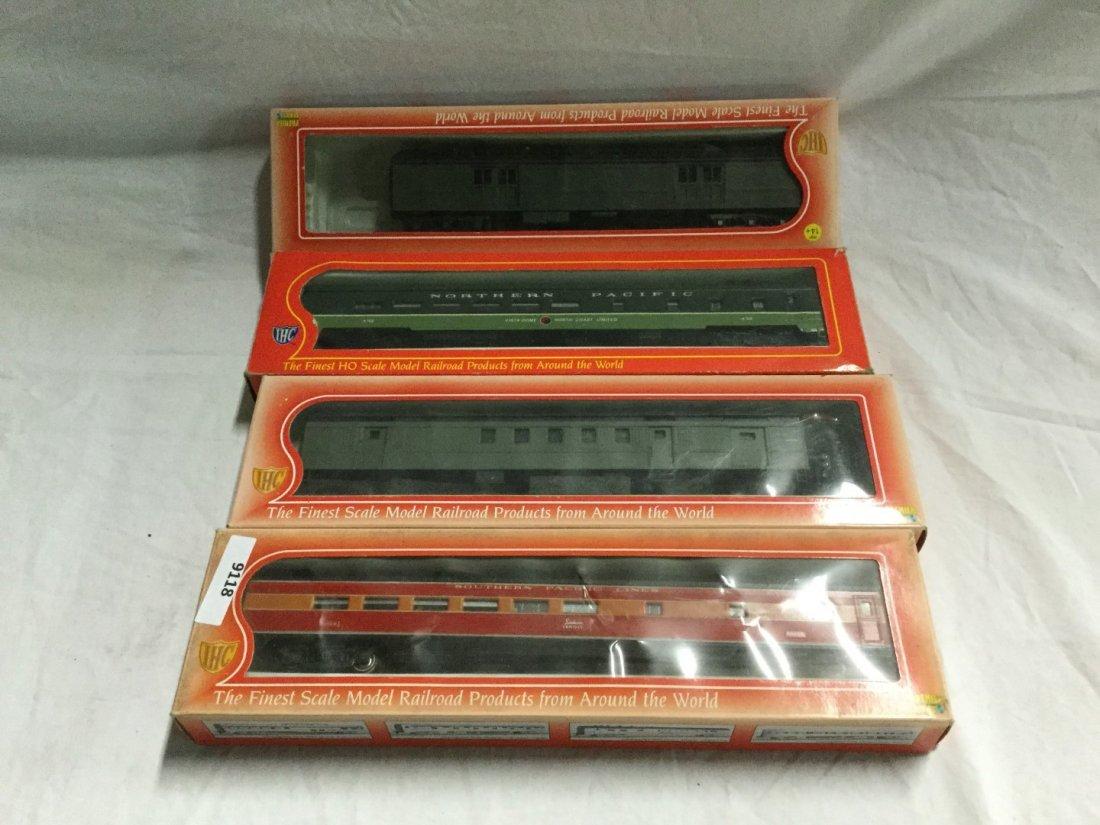 4 IHC model trains.