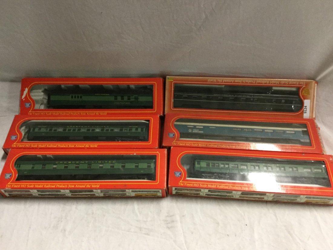 6 IHC model trains.