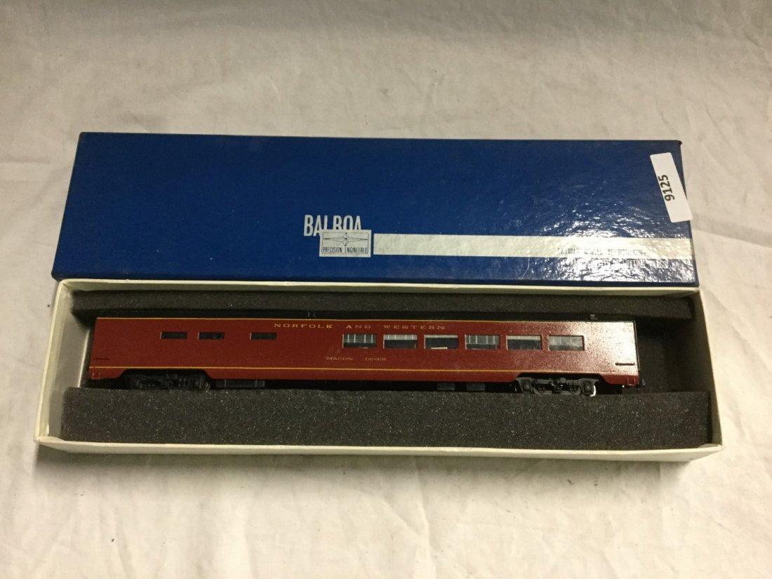 Balboa model Train Diner