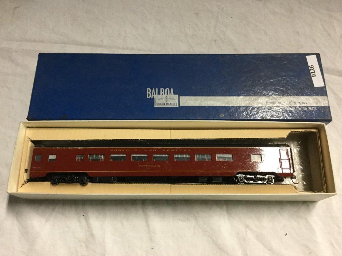 Balboa Model Train coach