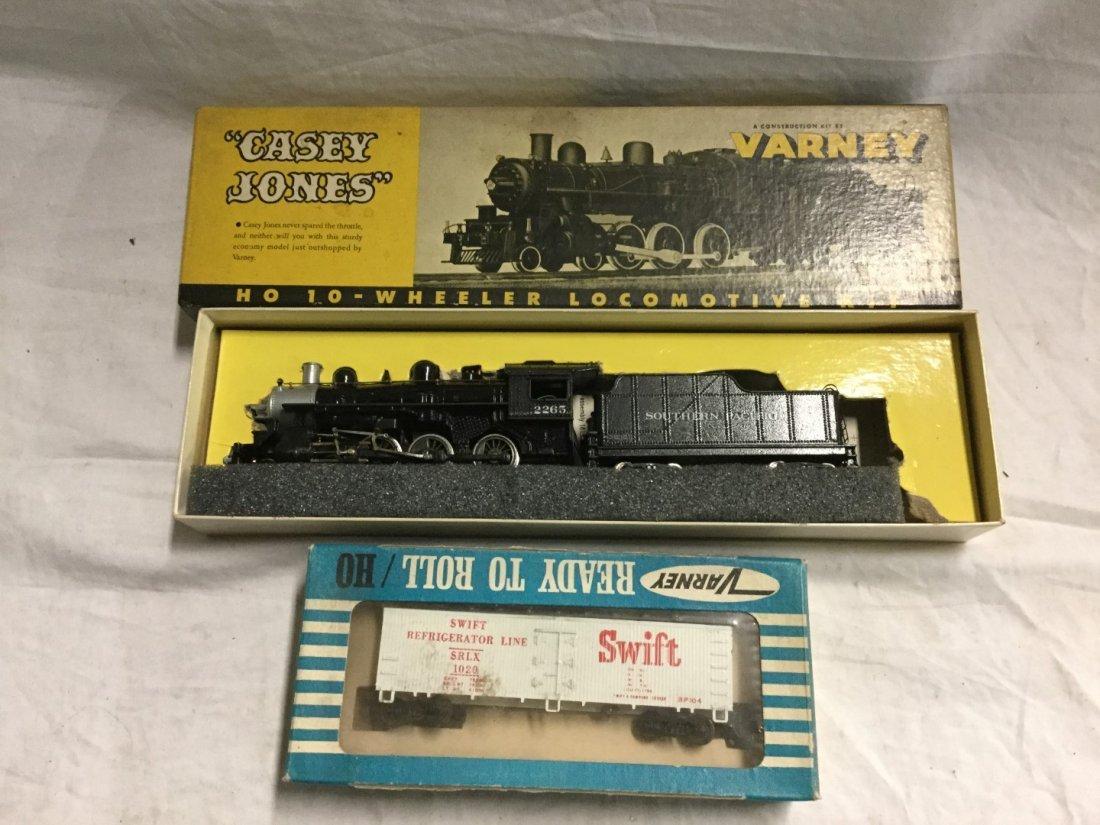 Varney Locomotive and swift reefer