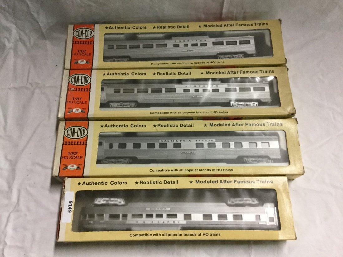 4 con-cor model trains