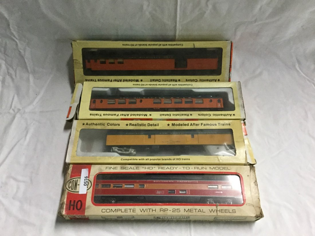 4 con-cor model trains