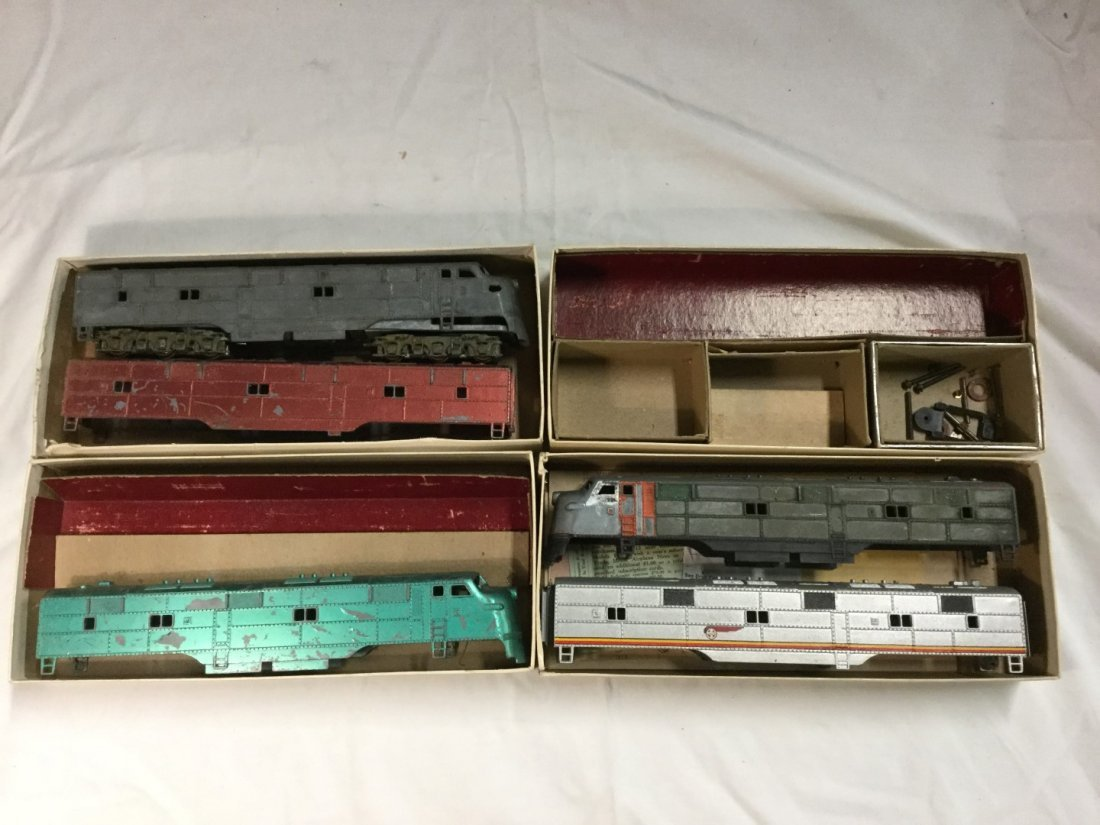 Four Hobby town of Boston Train boxes