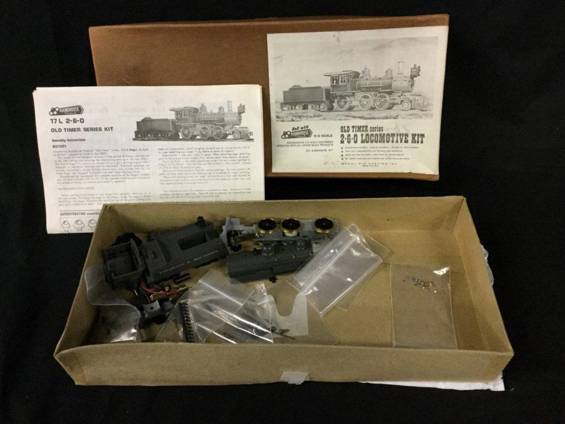 Roundhouse Ho scale locomotive kit