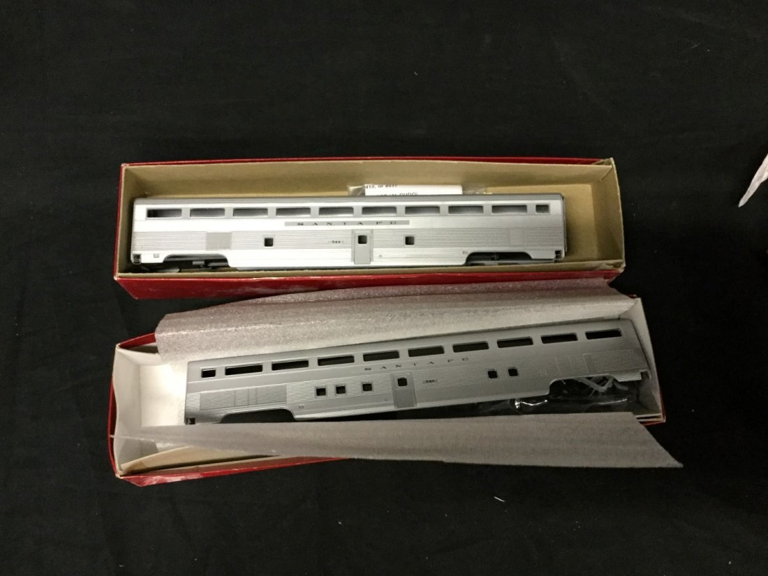 Two Train Station Products Ho scale car kits