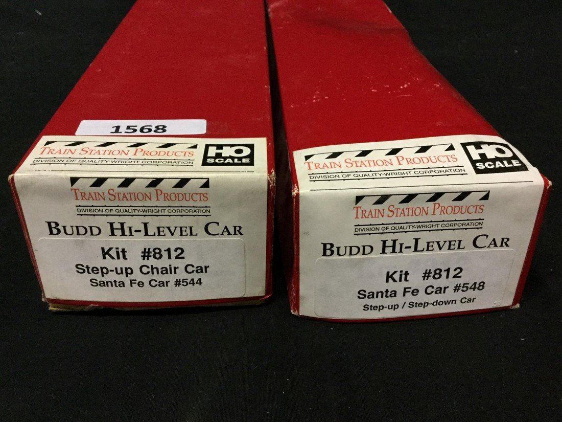 Two Train Station Products Ho scale car kits - 2