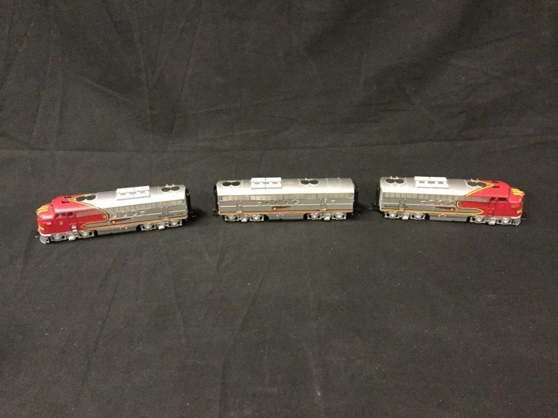 Bachmann Santa Fe train set