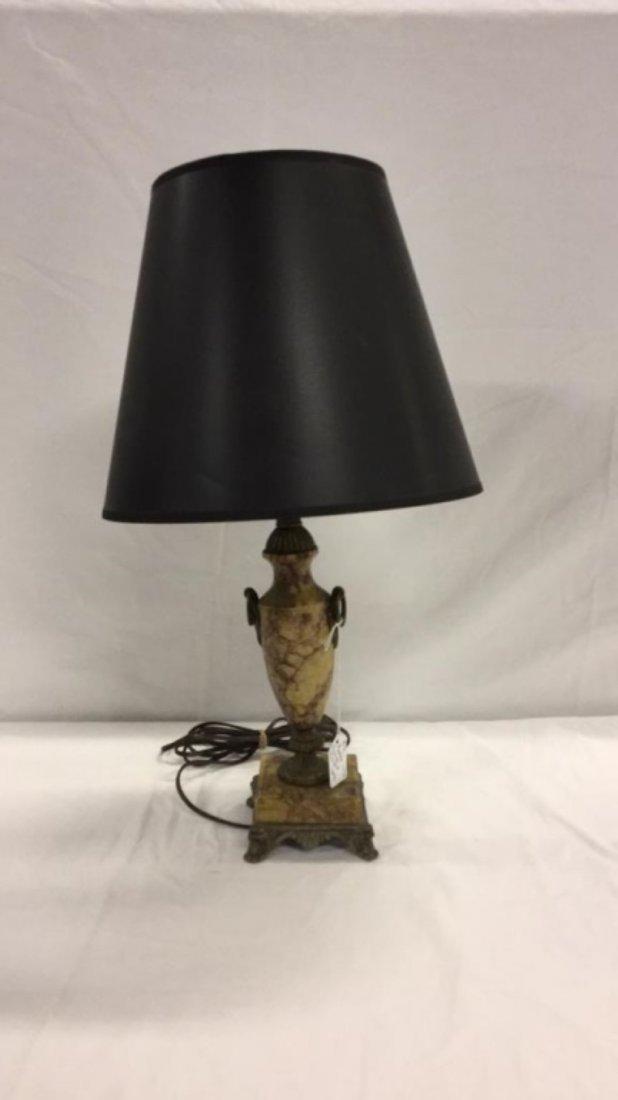 Marble French bar boudoir lamp