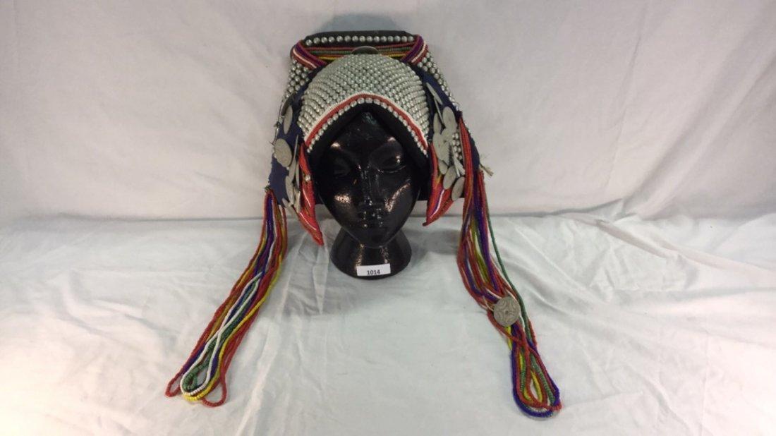 Native woman's headdress