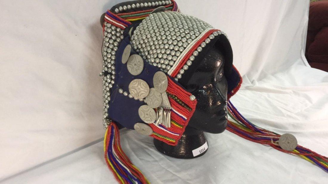 Native woman's headdress - 2