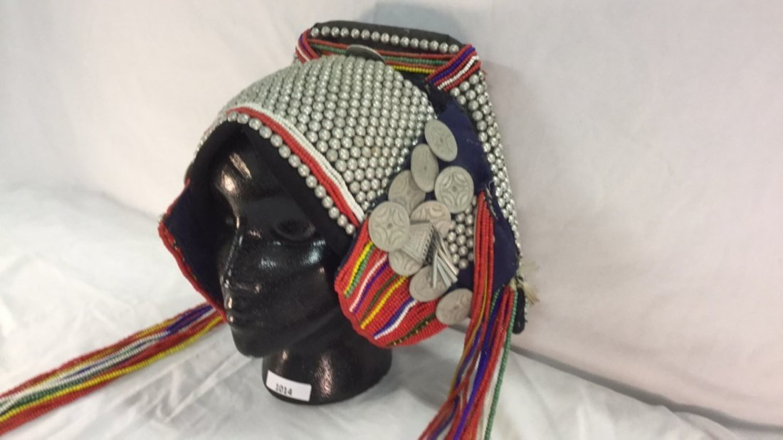 Native woman's headdress - 3