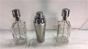 Scotch/Bourbon dispensers and shaker