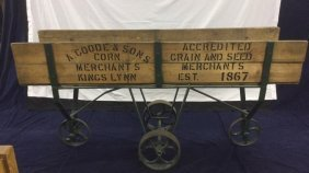 Grain and seed cart from east coast of England