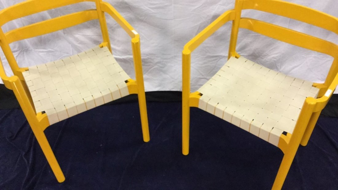 Two yellow chairs - 2