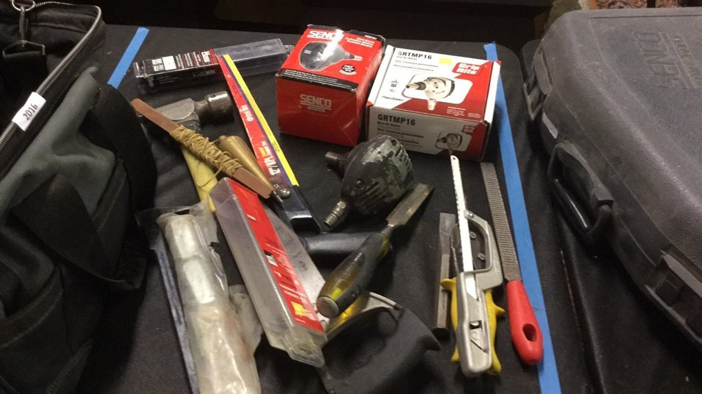 Bag of miscellaneous tools - 2
