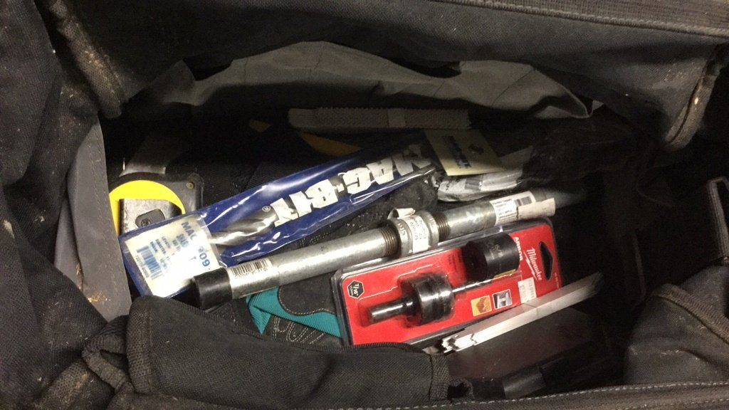 Bag of miscellaneous tools - 3