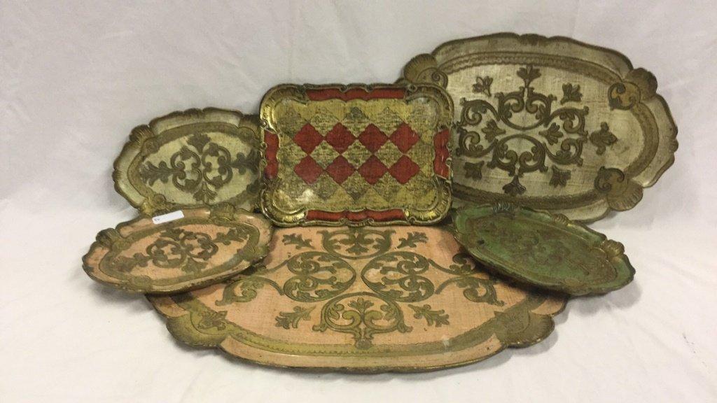 Wooden platters