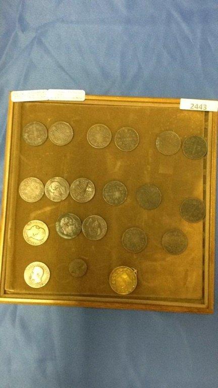 10 Centesimi Italian coins 1860's - 1890's