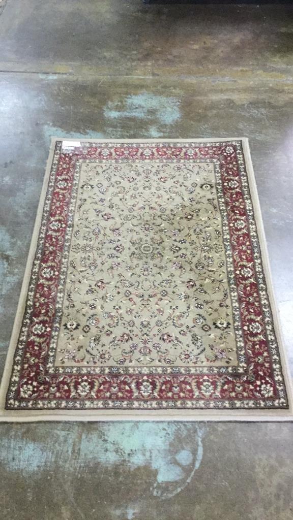 Machine entry rug