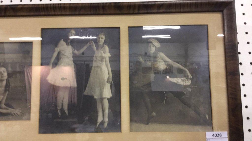 Vintage framed photographs of women - 3