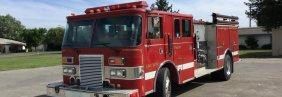 1989 Pierce Fire truck