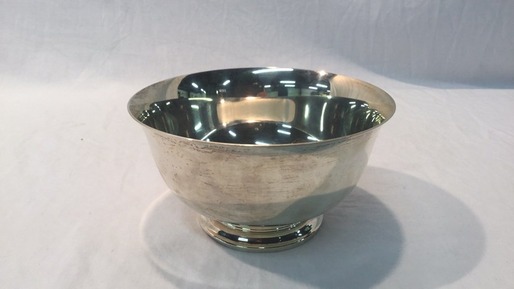 Footed Sterling Bowl by S. Kirk & Son