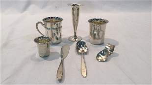 Assorted International Silver Collectibles