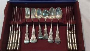Lot of 20th Century Norwegian Silver Flatware