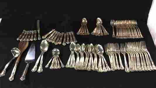 Large Gorham Sterling Silver silverware set